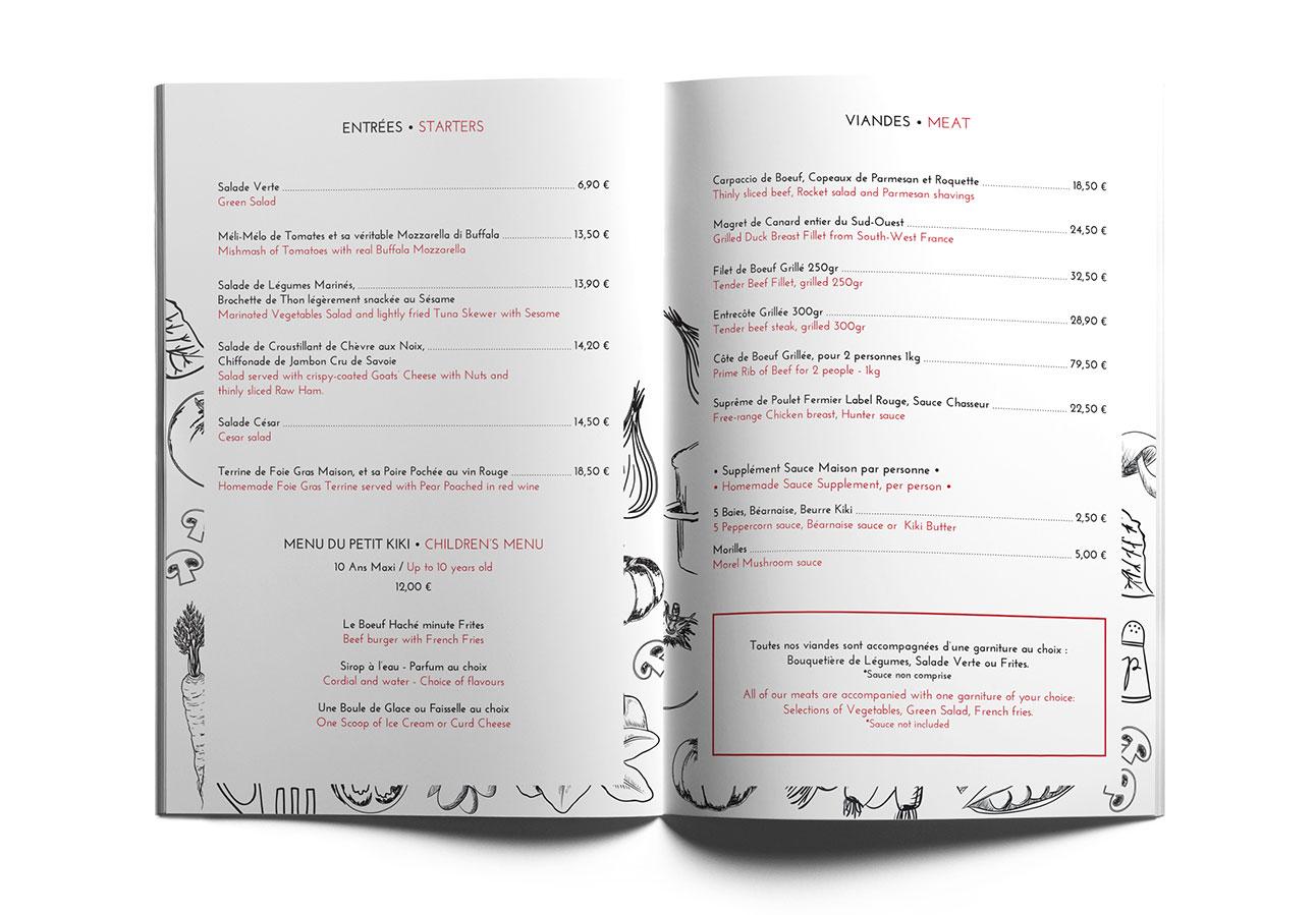 portfolio-kiki-restaurant-meribel-menu-2-florence-borrel-flobo-design-graphique-infographie-webdesign-savoie-tarentaise-meribel-menuires-courchevel