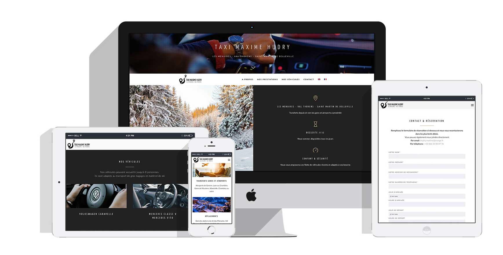 portfolio-taxi-maxime-hudry-1-florence-lau-la-ligne-graphique-graphiste-site-internet-infographie-webdesign-savoie-tarentaise-meribel-menuires-courchevel