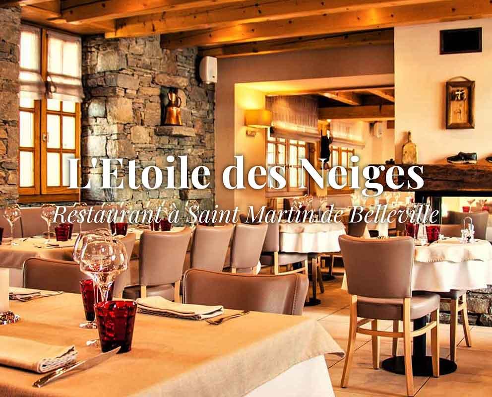 Restaurant L'Etoile des Neiges